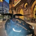 Executive Chauffeurs Luxury Tesla vehicle