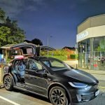 Executive Chauffeurs Tesla Model X Vehicle