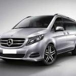 Luxury Wedding car hire V Class Mercedes
