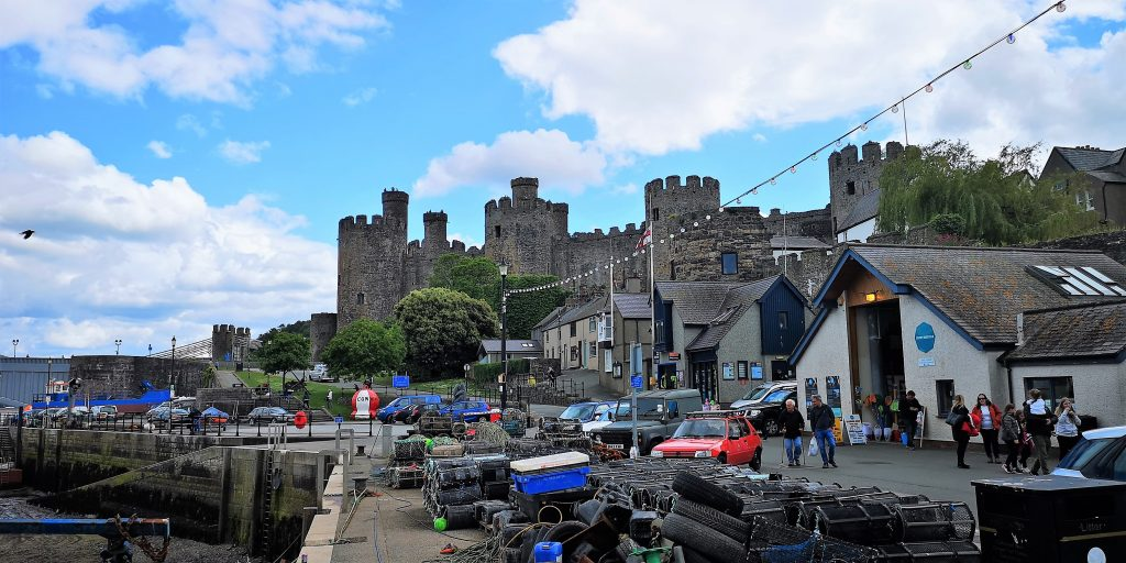 Picture of Conwy Castle North Wales