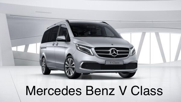 Image of Manchester Airport Taxis Mercedes V-Class