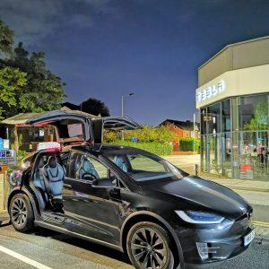 Executive Chauffeurs Tesla Model X Vehicle